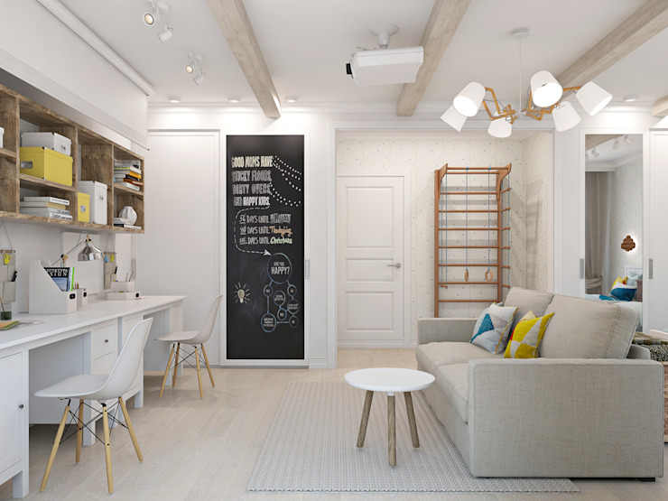 Habitacion invitados y estudio