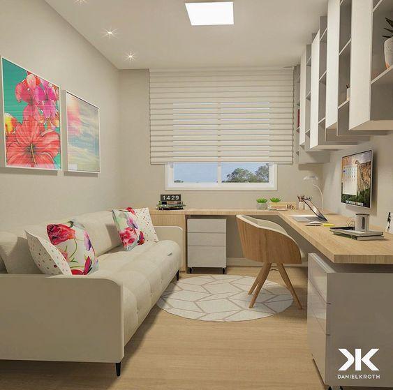 Habitación invitados y estudio