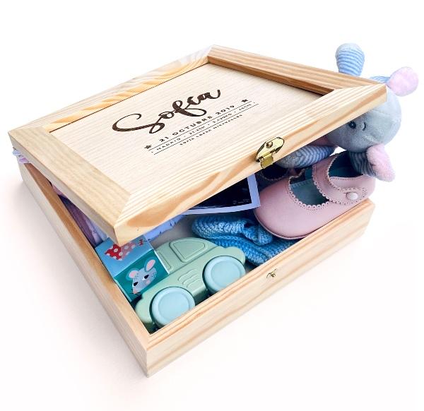 caja de bebés personalizada