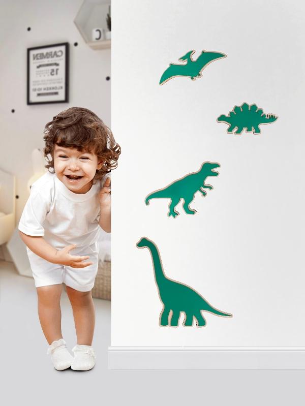 Kit dinosaurios madera