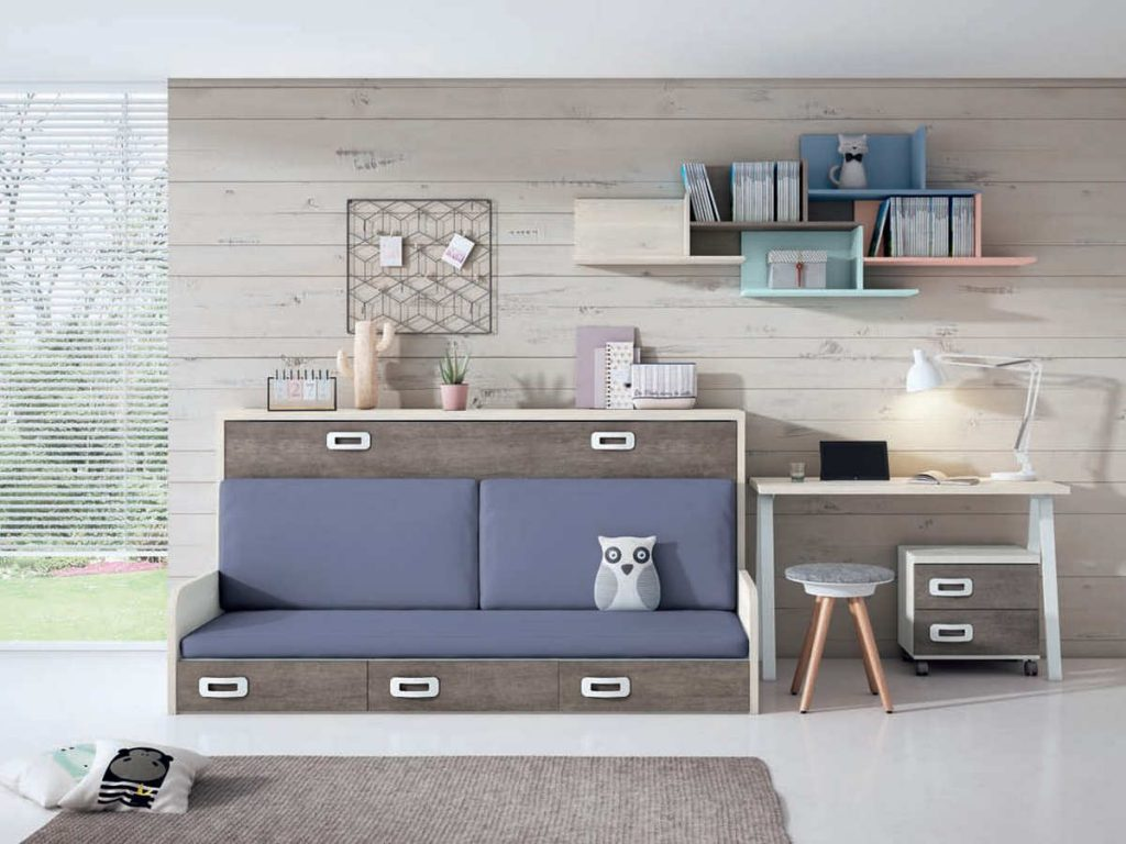 Camas abatibles con sofá