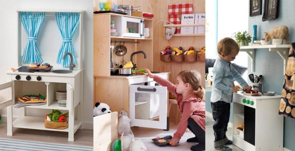 Cocinita Ikea de juguete para niños, modelos, opiniones, decoración