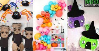 Manualidades Halloween para niños 2019