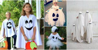Ideas de disfraces caseros de fantasma